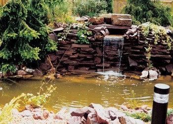 Waterval In Tuin : Waterval budget bestrating