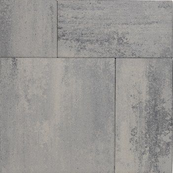 Patio Mixed Nero Grey 4cm