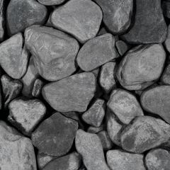 Black Slate Tumbled 30-80mm 500kg