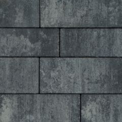 Patio Straight 7cm exclusive NeroGrey Banenverband