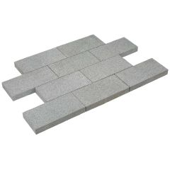 Paving Line 20x40x5cm Tibet Dark Grey