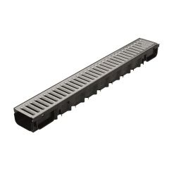 Top Drain Stalen Sleufrooster 100x13x8,5cm